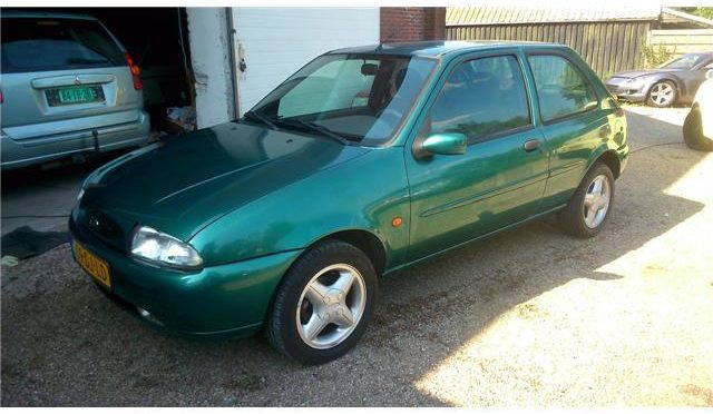 Ford Fiesta Uniek 39dkm!!, airco koud etc  € 2.475,-